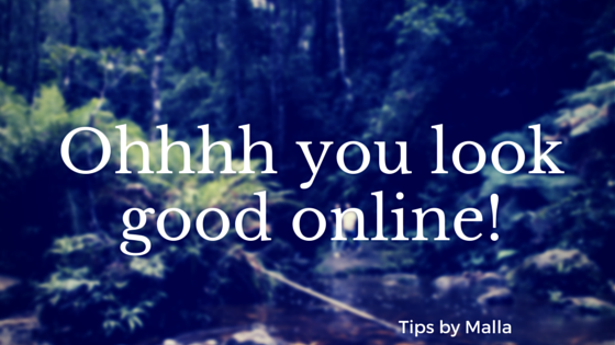 Ohhhh you look good online!