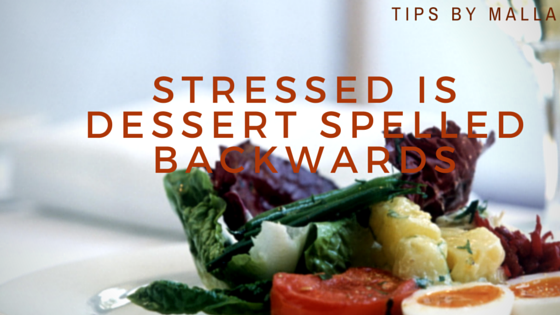 stressed is dessert spelled backwards
