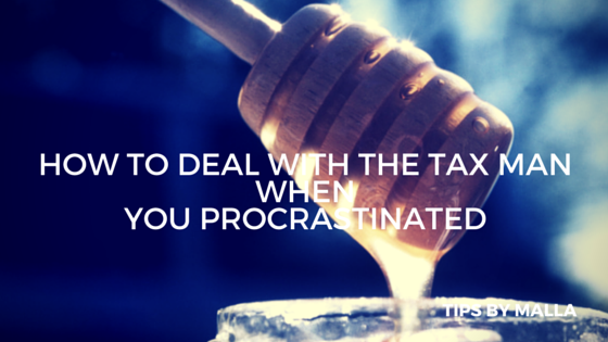 How to deal with the tax man when you