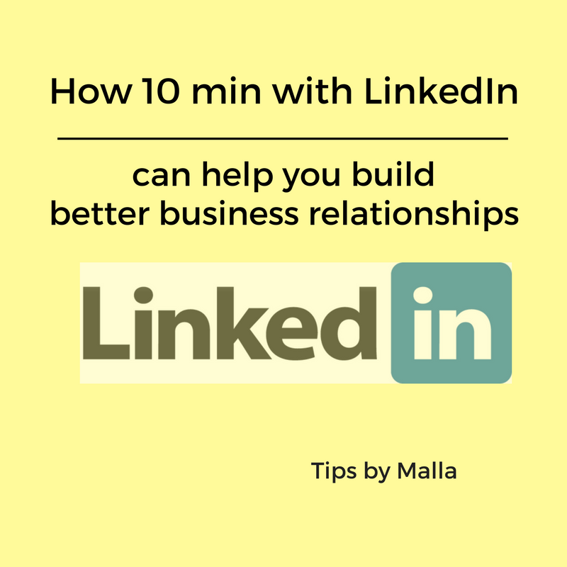 Finding and building relationships is TOUGH when you run a service based business. Learn why I recommend LinkedIn as one option for your marketing