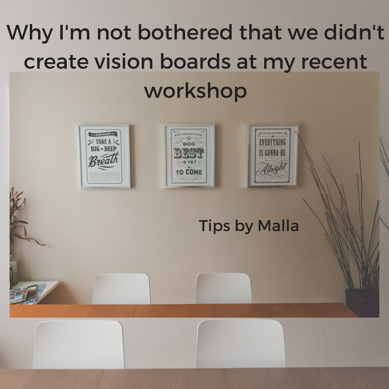 If you want more than fancy doodads and trips, you'll look for these deeper visioning and goal setting opportunities.