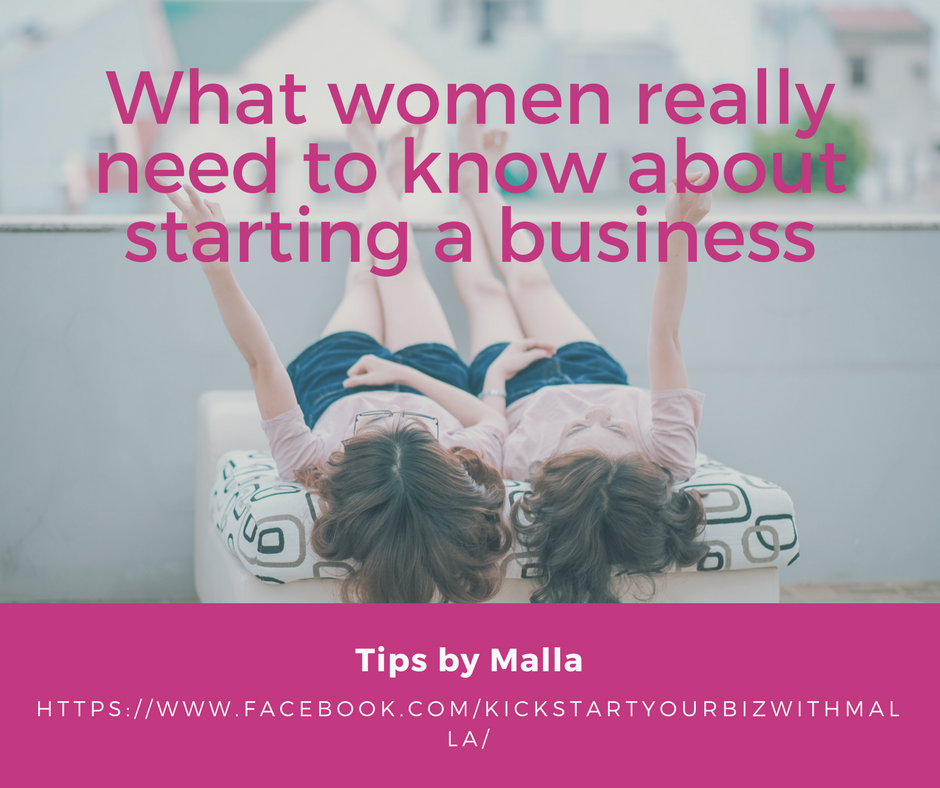 No, it's not just the business plan that women entrepreneurs need