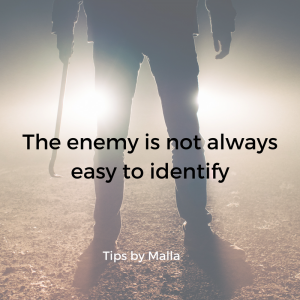 The real enemy in business is not always easy to identify