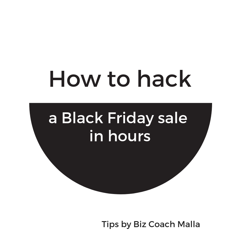How to hack a Black Friday sale in hours