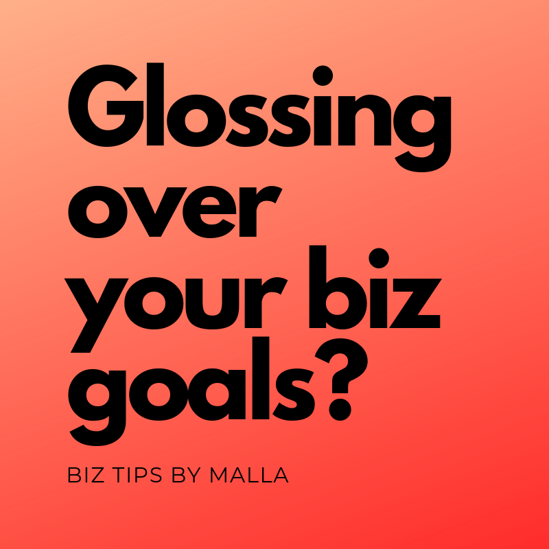 Yes, it's the mid year but you don't have to be perfect to hit your biz goals for the year