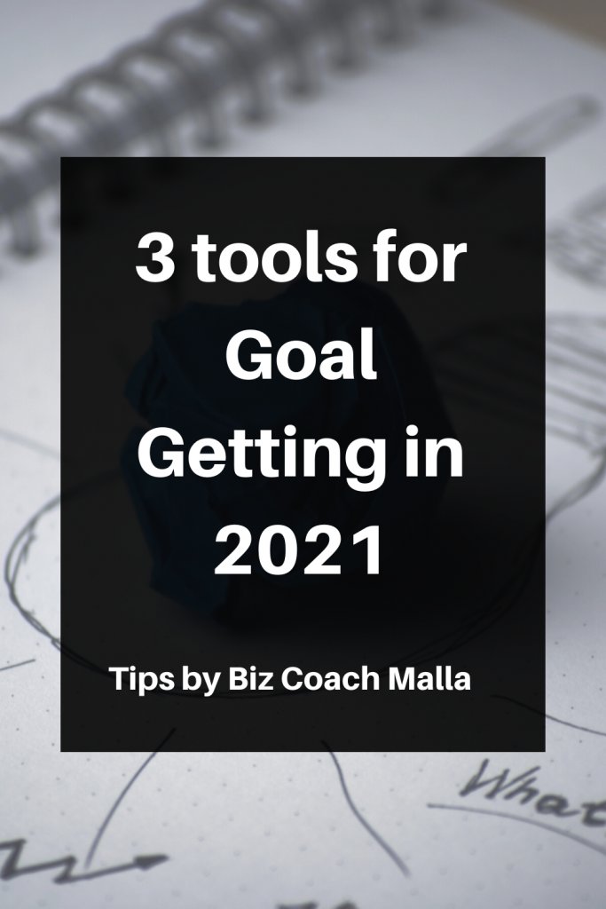 3 tools for Goal Getting in 2021